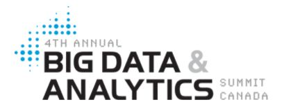 Big Data Summit Canada