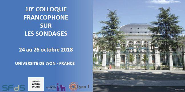 10e Colloque francophone sur les sondages