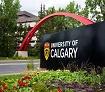 U Calgary sign