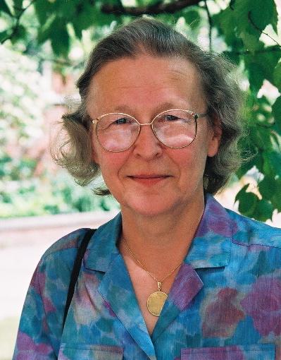 Constance van Eeden with her SSC Gold Medal.