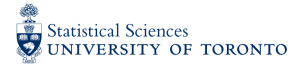 Department of Statistical Sciences University of Toronto